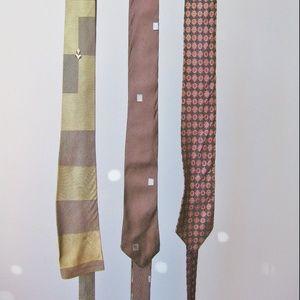 Vintage Ties Skinny and square